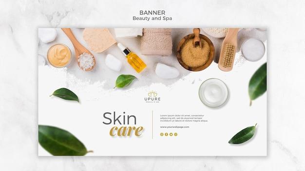 Beauty und spa banner vorlage Kostenlosen PSD