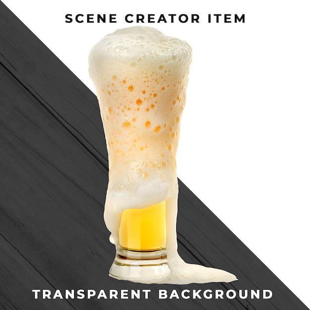Bier transparent psd Premium PSD