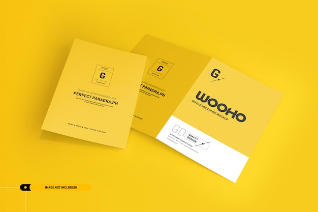 Bifold-broschürenmodell Premium PSD