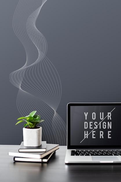 Bildschirmmodell für digitale geräte des laptops Kostenlosen PSD