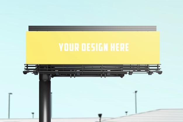 Billboard mockup Premium PSD