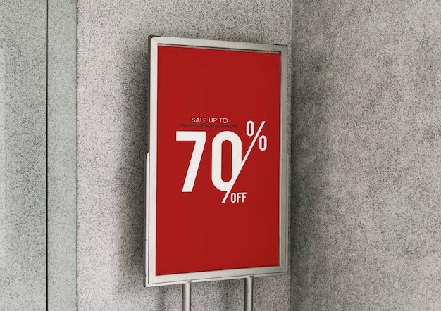 Bis zu 70% rabatt auf das plakatmodell Kostenlosen PSD