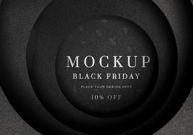 Black friday sales mock-up Kostenlosen PSD