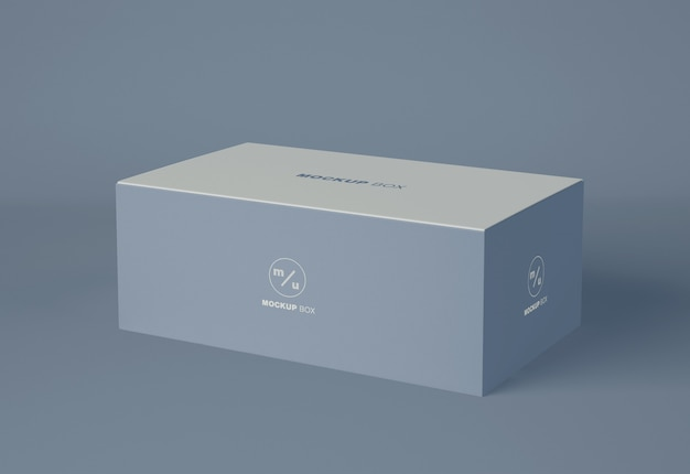 Box-verpackungsmodell Premium PSD