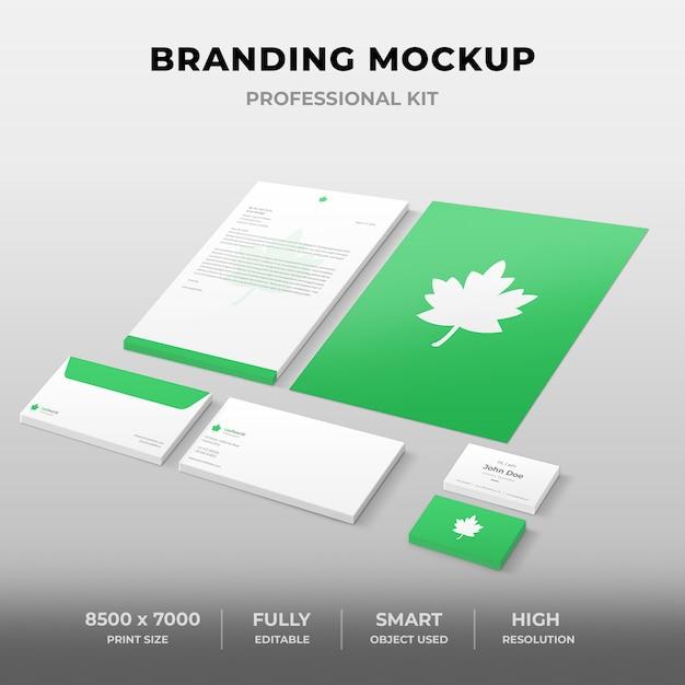 Branding-modell Premium PSD