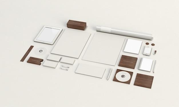 Briefpapier-modell Premium PSD