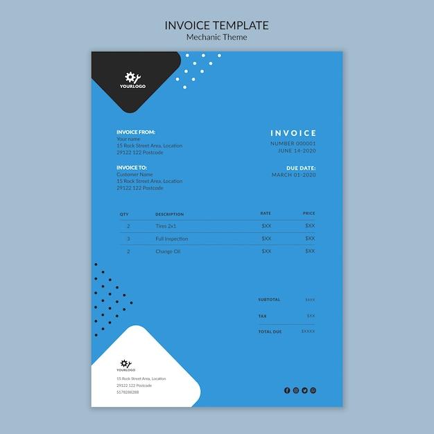 Briefpapiervorlage der mechanikkonzeptrechnung Kostenlosen PSD