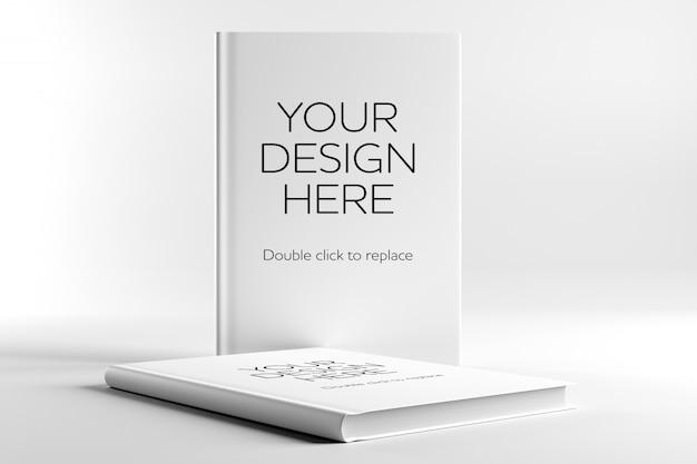 Buch mockup Premium PSD