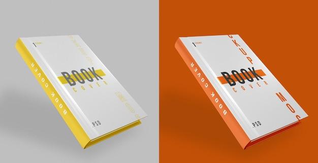Buchcover design mockup psd Kostenlosen PSD