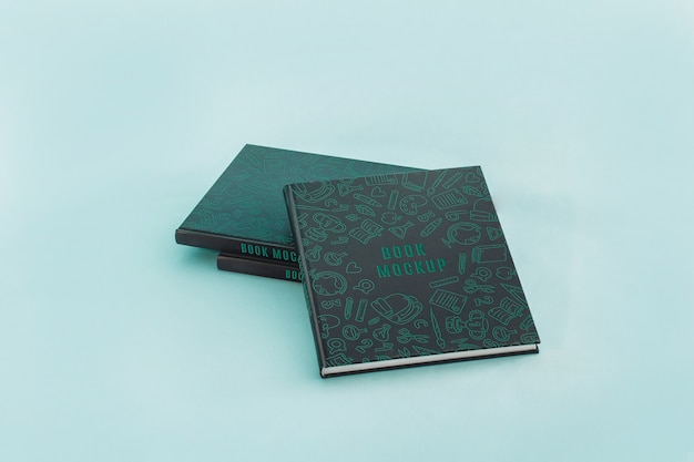 Buchcover mocku Kostenlosen PSD