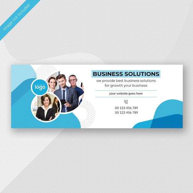Business banner design Premium PSD