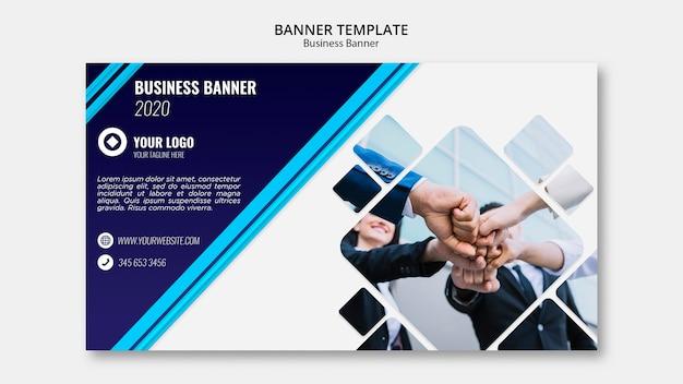 Business banner vorlage Kostenlosen PSD