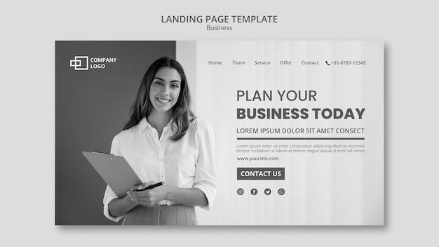 Business-landingpage Premium PSD