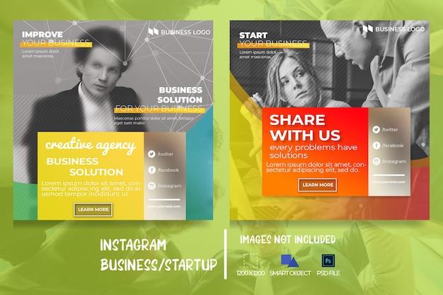 Business marketing web-social-media-banner Premium PSD