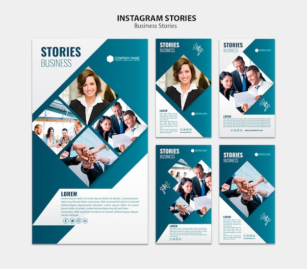 Business-social-media-vorlage Premium PSD