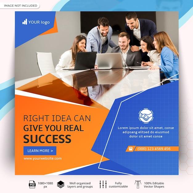 Business-web-social-media-beitragsvorlage Premium PSD