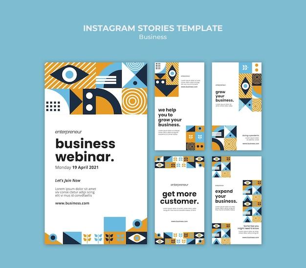 Business webinar instagram geschichten Kostenlosen PSD