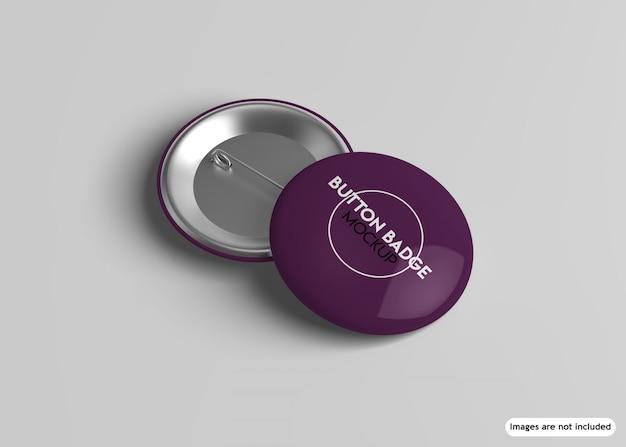 Button-abzeichen-modell Premium PSD