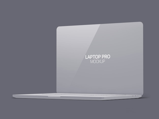 Clay laptop modell laptop Premium PSD