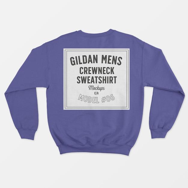 Crewneck herren sweatshirt Kostenlosen PSD