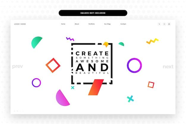 Designer-website-vorlage, Premium PSD