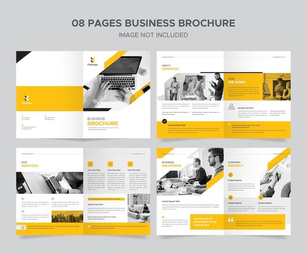 Designvorlage für unternehmensbroschüren Premium PSD
