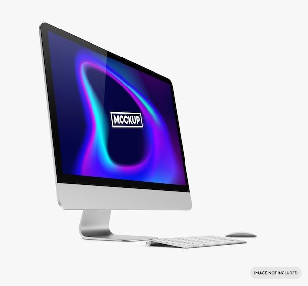 Desktop-computer-modell Premium PSD