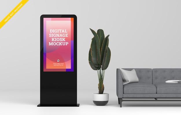 Digital signage led-display-modell. Premium PSD
