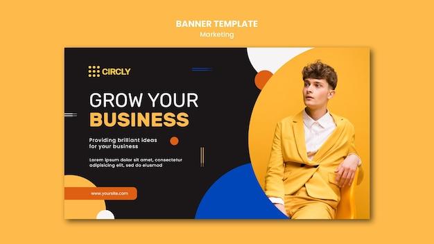 Digitale marketing-banner-vorlage Kostenlosen PSD