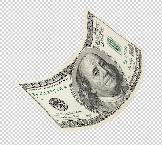 Einhundert dollar banknote Premium PSD
