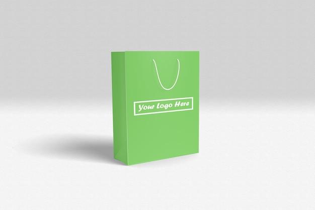 Einkaufstasche mockup Premium PSD