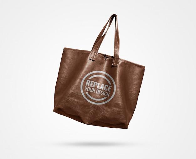 Einkaufstasche werbemodell Premium PSD