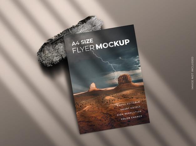 Einzelseiten-flyer oder broschüre oder faltblattmodell Premium PSD