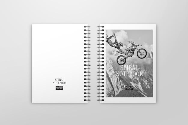 Elegantes notebook-modell Premium PSD
