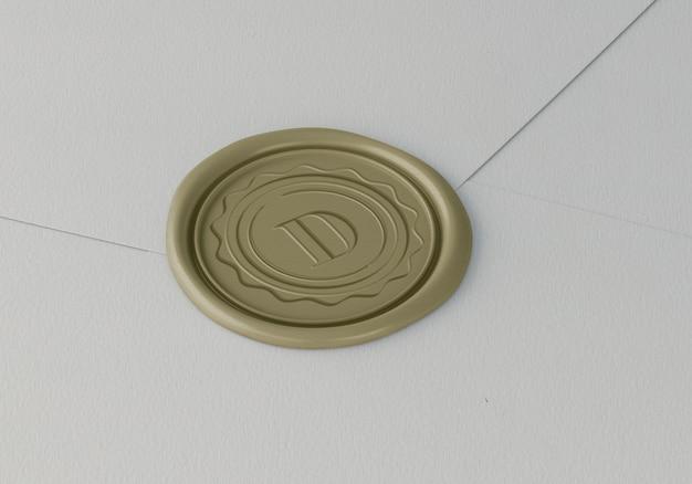 Elegantes stempel- oder abzeichenmodell Kostenlosen PSD