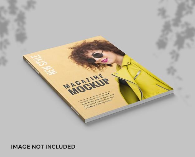 Elengant cover magazin von oben ansicht modell Premium PSD
