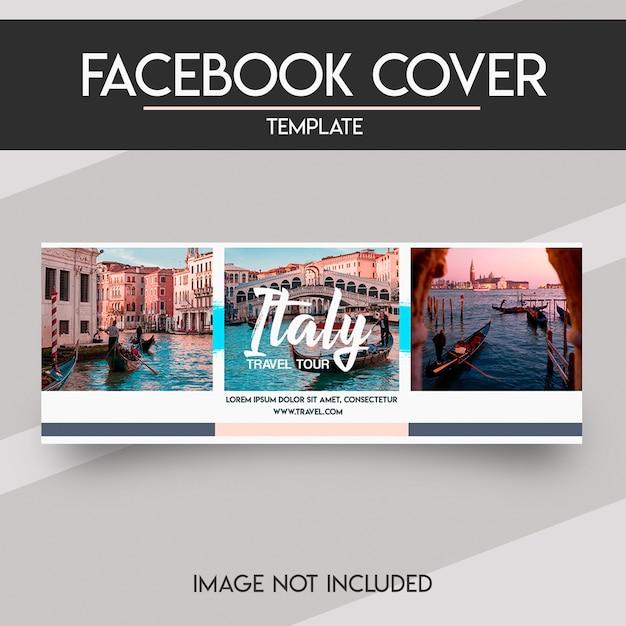 Facebook-cover-vorlage für soziale medien Premium PSD