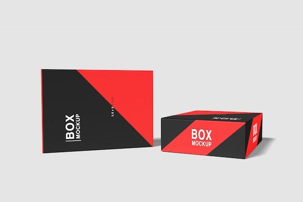 Fall box mockup Premium PSD