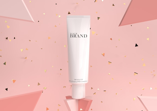 Feuchtigkeitsspendende promo für die kosmetische hautpflege Premium PSD