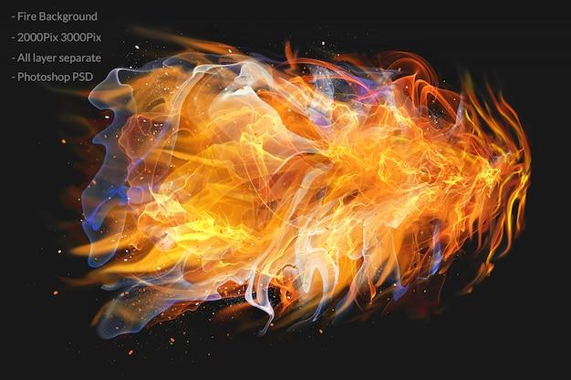 Feuer flammen Premium PSD