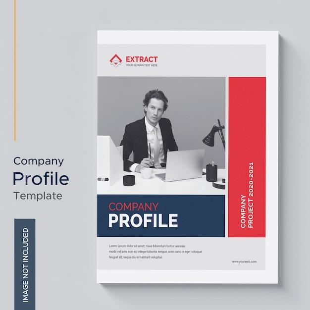 Firmenprofilvorlage Premium PSD