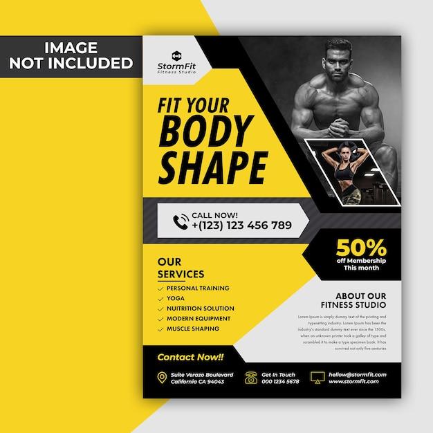 Fitness-flyer Premium PSD