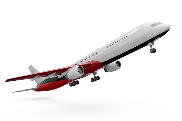 Flugzeugmodell Kostenlosen PSD