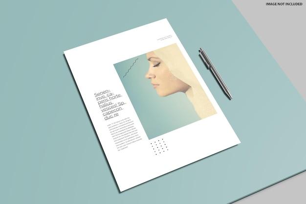 Flyer modell design Premium PSD
