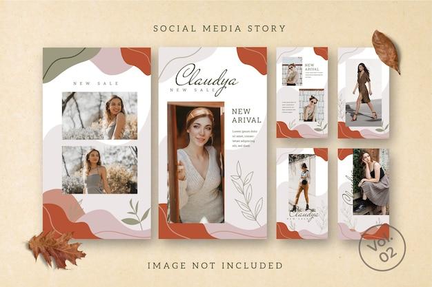 Flyer square social media feed story poster instagram Premium PSD