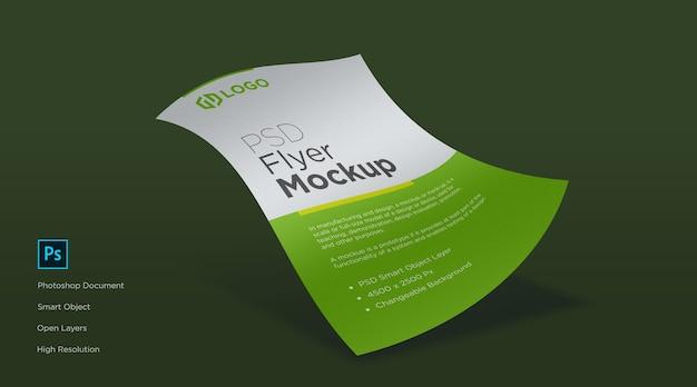 Flyer und poster mockup design Premium PSD