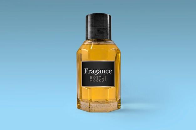 Fragance bottle mockup Kostenlosen PSD