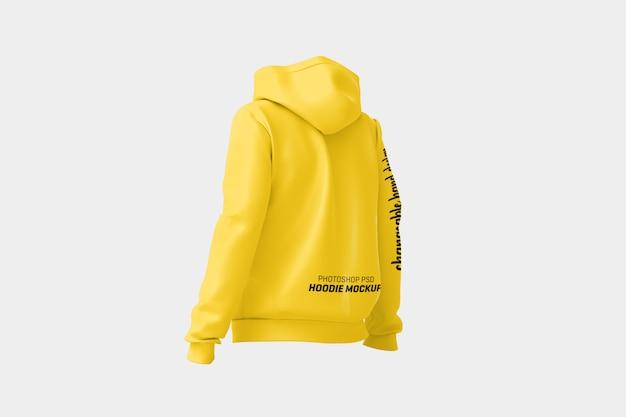 Frauen hoodie mock up Premium PSD