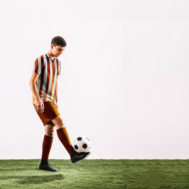 Fußballspieler Kostenlosen PSD