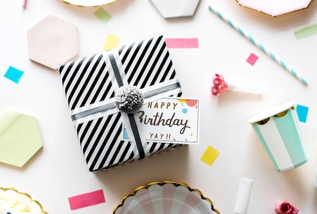 Geburtstagsfeier-konzept Premium PSD